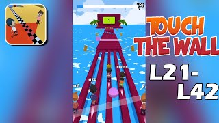Touch The Wall Gameplay Walkthrough Level 22-42