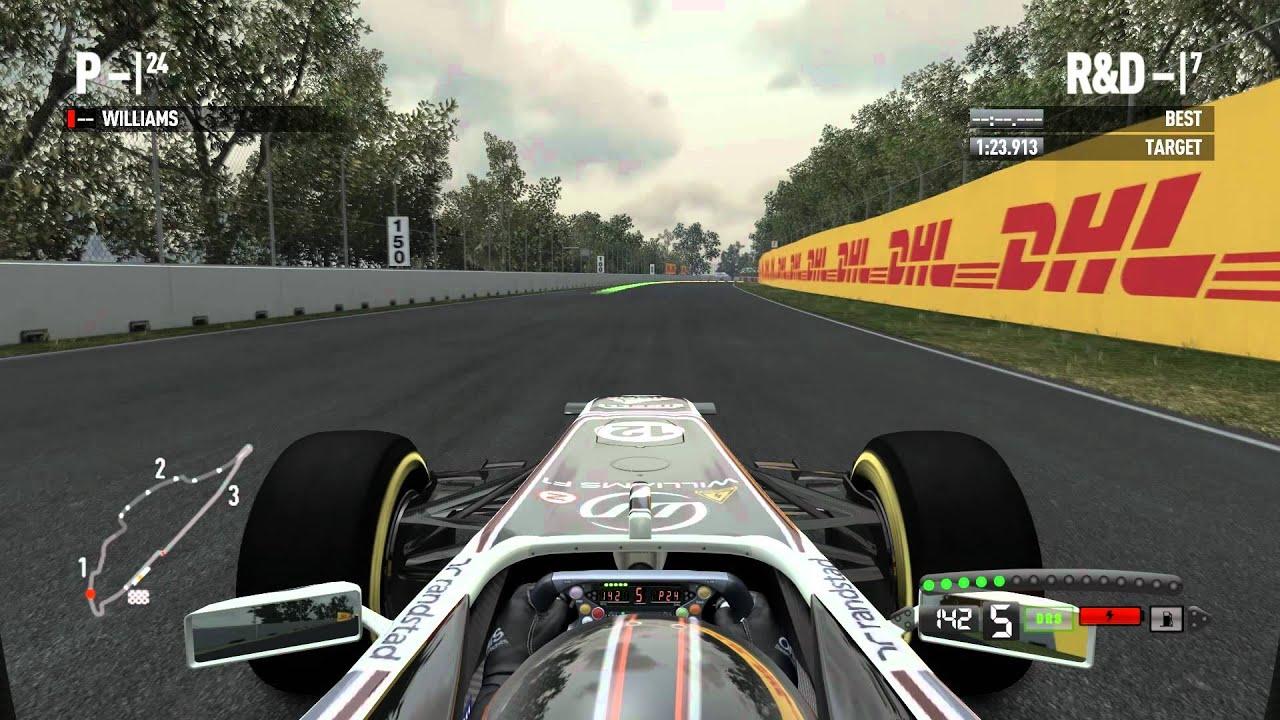 F1 2011 (PC) Gameplay
