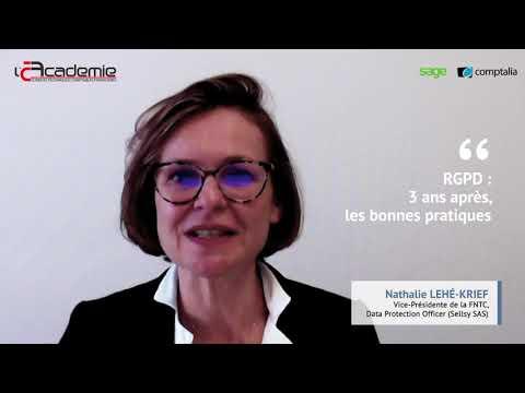 Les Entretiens de l'Académie : Nathalie Lehé-Krief