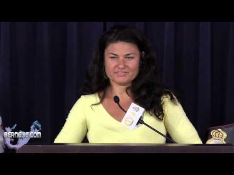 Teresa Perozzi On Upcoming Boxing Match, Oct 8 2012