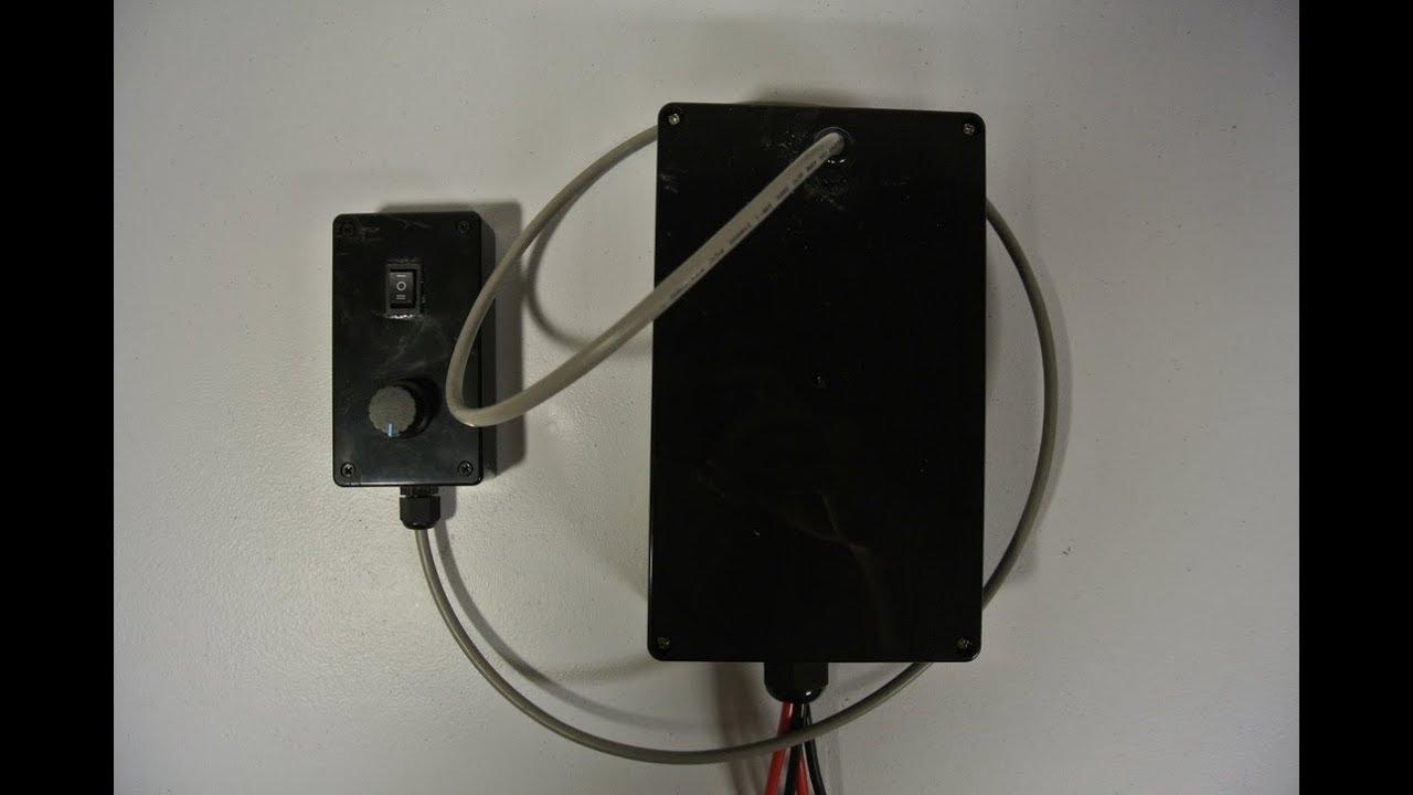 DIY Kayak 12V PWM Digital Speed Controller Remote Build Project