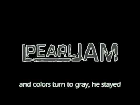 Pearl Jam - Sad(Lyrics)