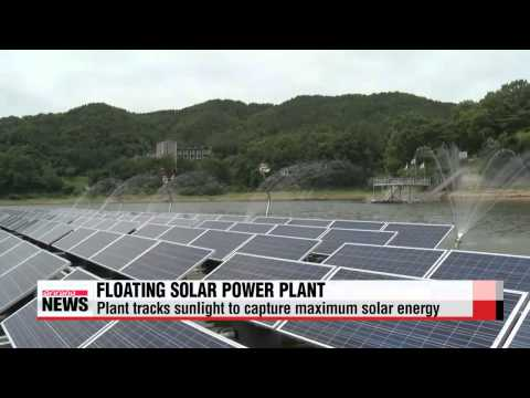 Korea builds world′s first floating solar power plant that tracks sunlight   물 위