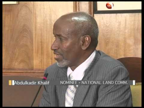Vetting of the Land Commission nominees concludes