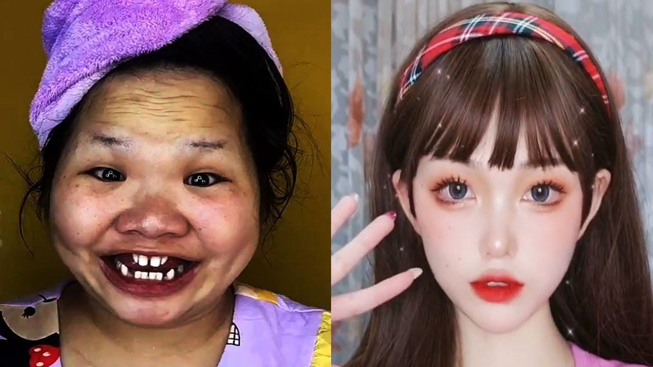 Asian Makeup Tutorials Compilation | New Makeup 2021 | 美しいメイクアップ/ part 161