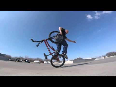 Gopro Hero 4 session flatground BMX