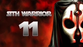 Sith Warrior - Part 11 (BRIGHT LIGHTS - Star Wars: The Old Republic SWTOR Let's Play Gameplay)