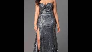 Вечерние платья для полных женщин  — Лучшие фасоны и новинки