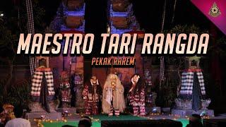 Maestro Tari Rangda Masolah Pekak Rarem Trena Jenggala CUP II 2019 Padang Tegal Kaja