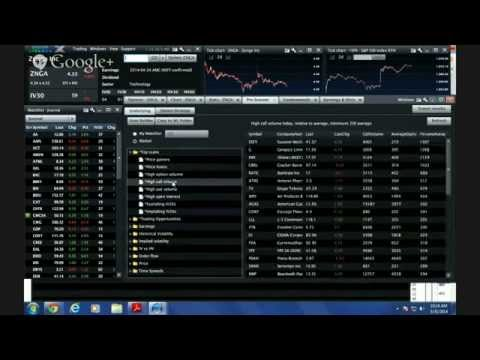 Trading with Livevol