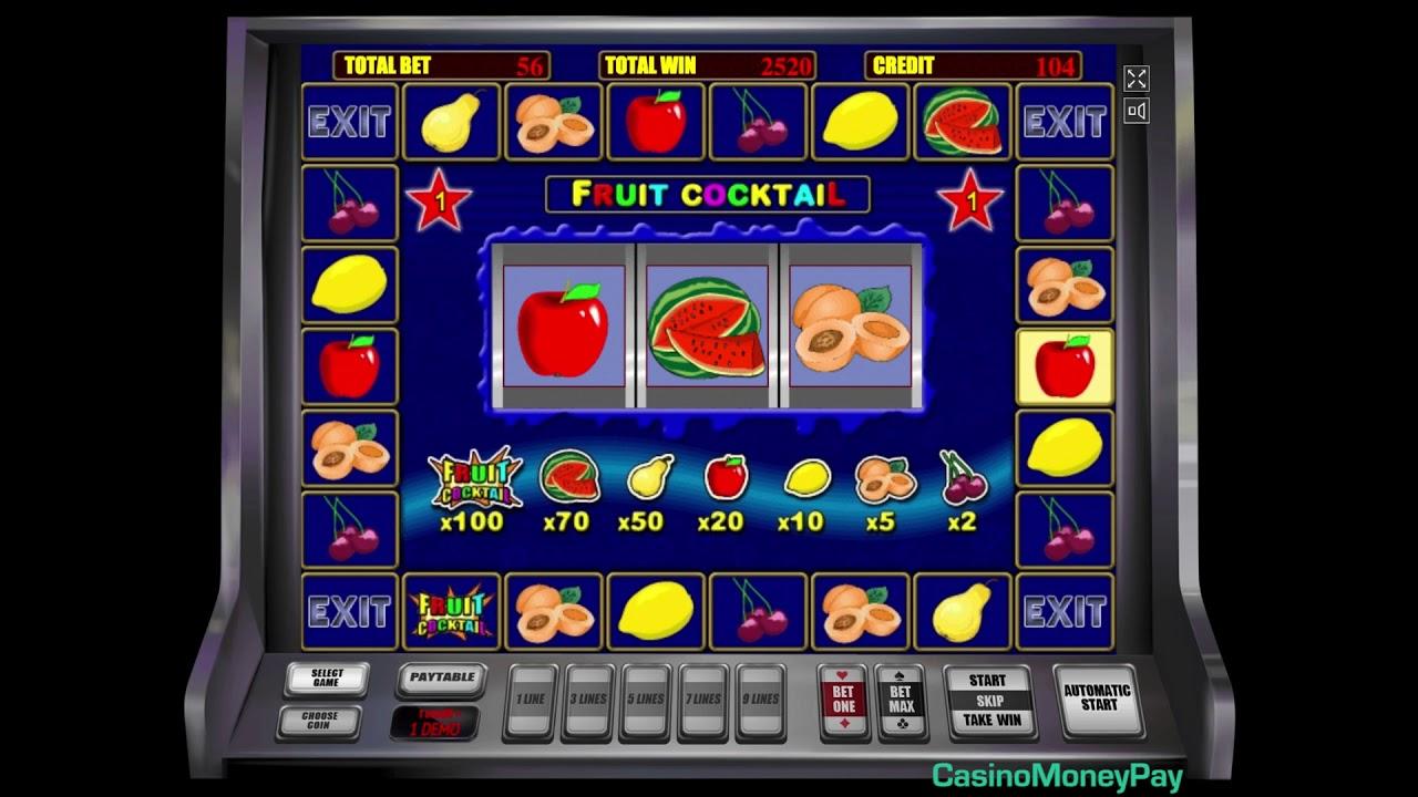 играть в игру fruit cocktail