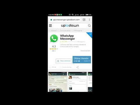 How To Download WhatsApp Without Play Store 2018