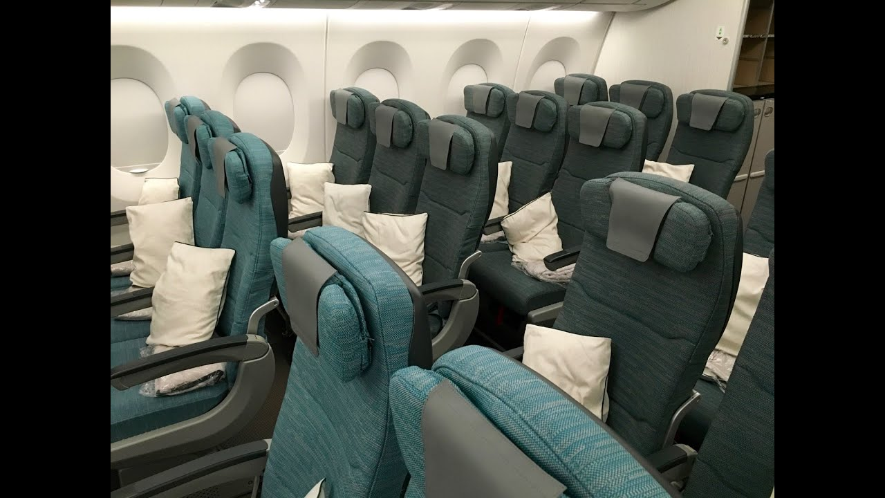 cathay pacific new business class interior classes CATHAY PACIFIC A350 XWB FULL CABIN TOUR u0026 REVIEW