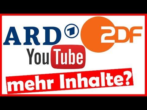 ZDF & ARD wollen mehr Inhalte auf Youtube hochladen   YOUTUBE NEWS