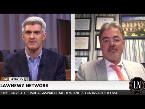 Jon Sinn Defense Attorney for Joshua Gaspar on LawNewz Network