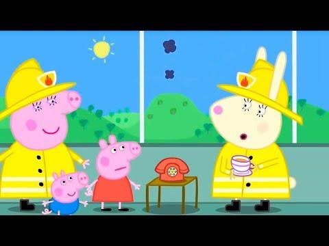 Видео: Свинка Пеппа на русском все серии подряд | На помощь, Пеппа! | Мультики