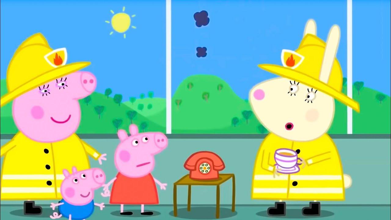 Свинка Пеппа на русском все серии подряд | На помощь, Пеппа! | Мультики