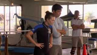 Dolphin Tale 2: Behind the Scenes 1 (Movie Broll) Morgan Freeman, Ashley Judd