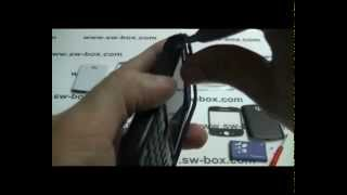 BlackBerry Curve 8520 disassembly tutorial - Change Housing (White 8520)
