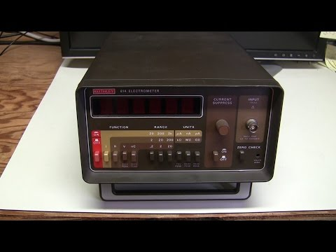 #30 - Keithley 614 electrometer repair and calibration