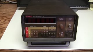 Keithley 614 electrometer repair and calibration