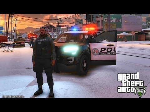 GTA 5 MODS LSPDFR 1003  - GANG UNIT PATROL!!! (GTA 5 REAL LIFE PC MOD)