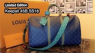37fea160baf8 Limited Edition Louis Vuitton Keepall 45B Mens SS18 Collection - Duration   12 minutes.
