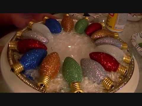 Light Bulb Ornaments