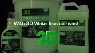 Wash your dirty car without water?