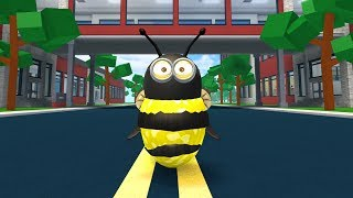 HOW TO BE A GIANT BEE IN ROBLOXIAN HIGHSCHOOL!!