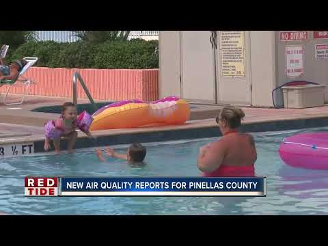 Pinellas County to launch new, first of its kind red tide air quality report