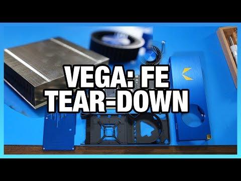 AMD Vega: FE Tear-Down, Die Size, Mounting Spacing, & More