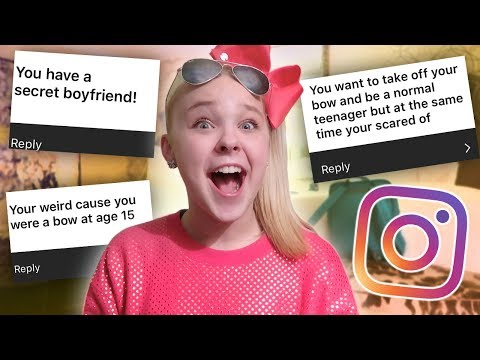 """REACTING TO WHAT YOU """"ASSUME"""" ABOUT ME... (Instagram Challenge)"""
