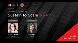 Sustain to Scale with Vidhi Puri