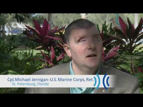 Blinded Marine's Path to Education & Employment