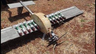 Syrian Air Defense shot down jihadists' armed drone   June 23rd 2019   Hama, Syria
