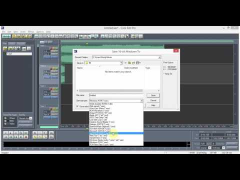 How to save your mix into MP3 using Cool Edit 2.1