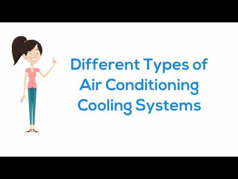 Different Types of Air Conditioning Cooling Systems