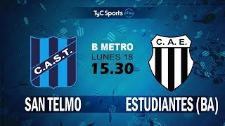 San Telmo vs Club Atlético Est. full match