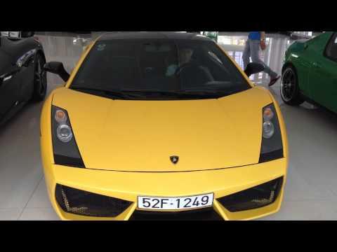 đề máy cho em Lamborghini Gallardo SE duy nhất tại Việt Nam :D