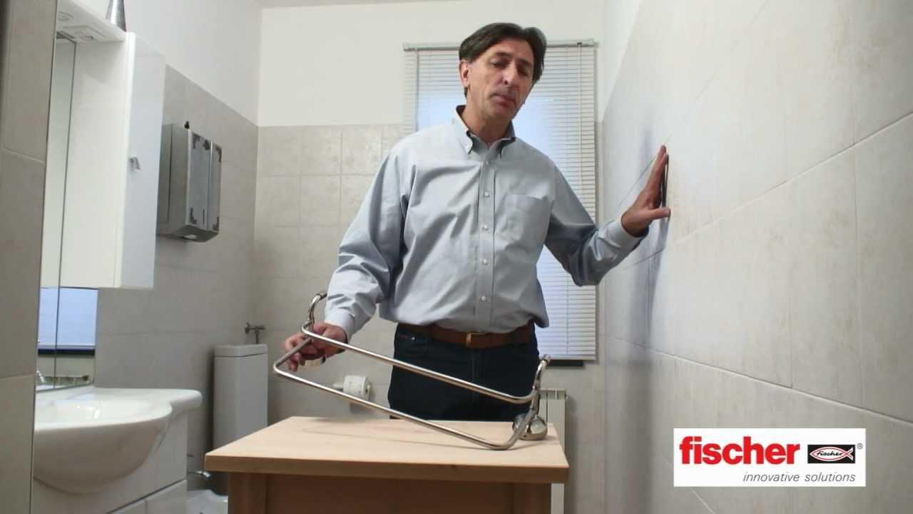 Fischer ready to fix kit di fissaggio per gli accessori for Accessori per bagno