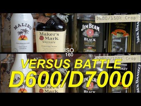 Nikon D600 VS D7000 - Epic Comparison