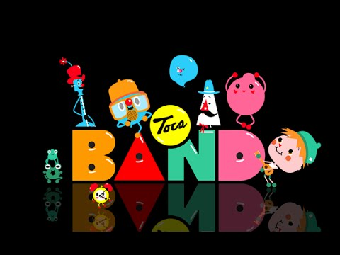 Toca Band Part 1 - Best iPad app demo for kids - Ellie