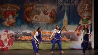 kairali of baltimore christmas new years 2017 munda thoda dance