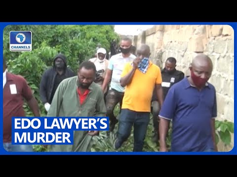 Suspects Lead Police Team To Exhume Body Of Murdered Lawyer In Edo