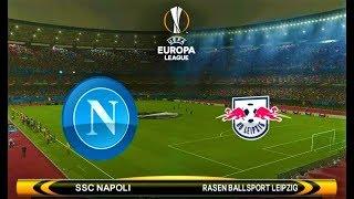 Napoli vs Leipzig | UEFA Europa League 2018 | PES 2018 Gameplay HD