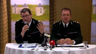 G8 Summit: Police Service of Northern Ireland briefing