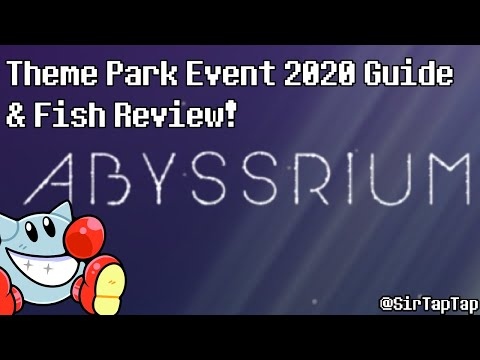 Easiest Event EVER?! | Tap Tap Fish AbyssRium Theme Park Event 2020