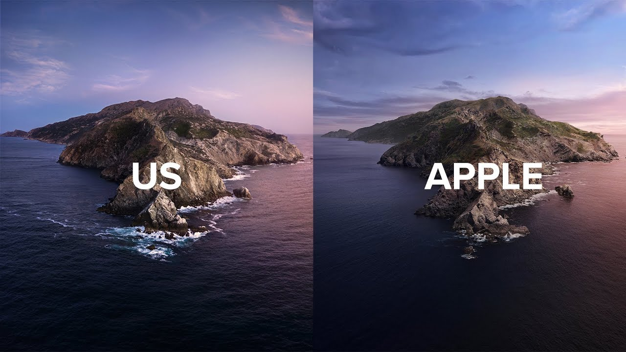 We Recreated The Latest Apple Wallpaper Macos Catalina