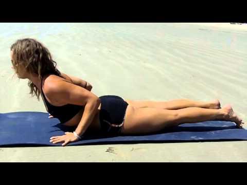 yoga introduction for vinyasa cobra pose bhujangasana